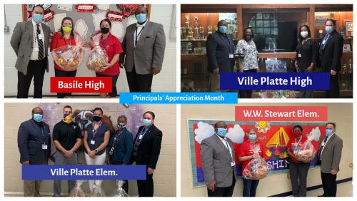 National Principals Month Photo Collage