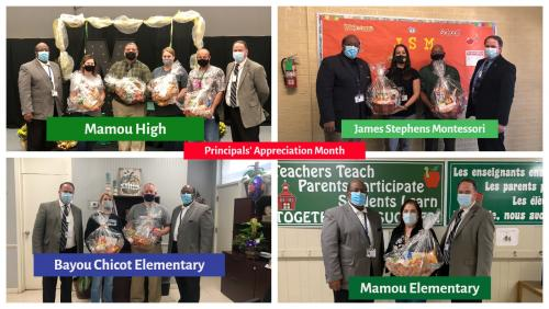 National Principals Month Photo Collage 3