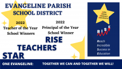 Star Teachers Rise - 2022 Teachers of the Year and Principal of the Year School Winners