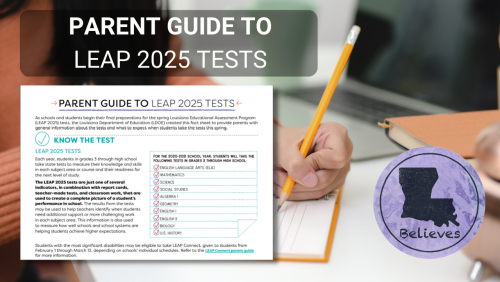 Parent Guide to LEAP 2025 Test