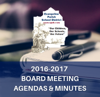 2016-2017 Board Meeting Agendas & Minutes Image with Link to documents