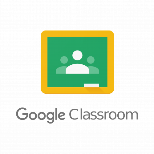 Google Classroom Logo with link to resource site.