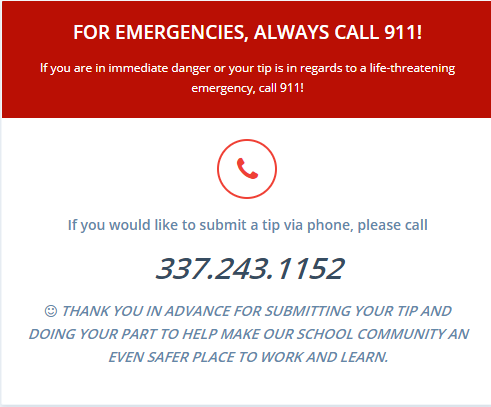 Safe Alert Phone Number