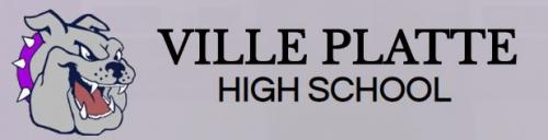Ville Platte High Logo with link to school's report card on louisianaschools.com
