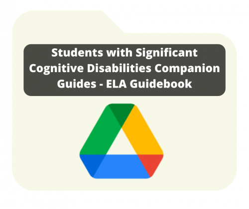 SWSCD Companion Guides - ELA Guidebook Image with link to Google Drive Folder