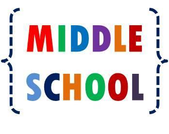 Middle School graphic to link to Google site