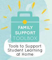 LDOE Family Support Toolbox logo with link to site
