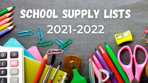 School Supply Lists Image