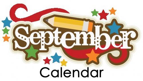 September 2021 school calendar