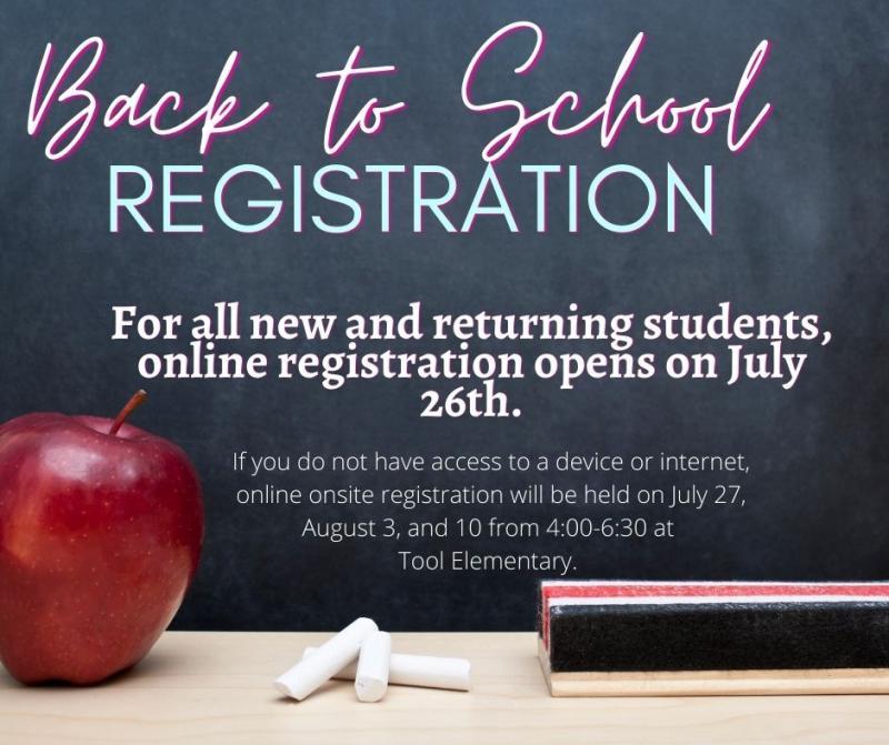 Tool Elementary Registration Information