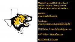 School Closing Informational Sites