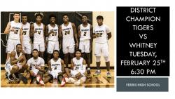 Thumbnail Image for Article Tiger Boys Basketball Playoff