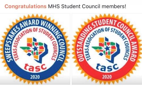 Sweepstakes Council and Outstanding Council Recognitions: