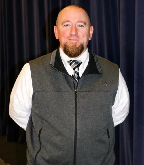 MES Principal Chris Robertson.