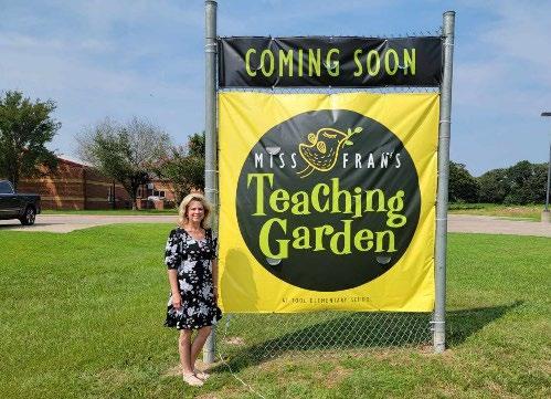 MissFran's Teaching Garden at Tool Elementary