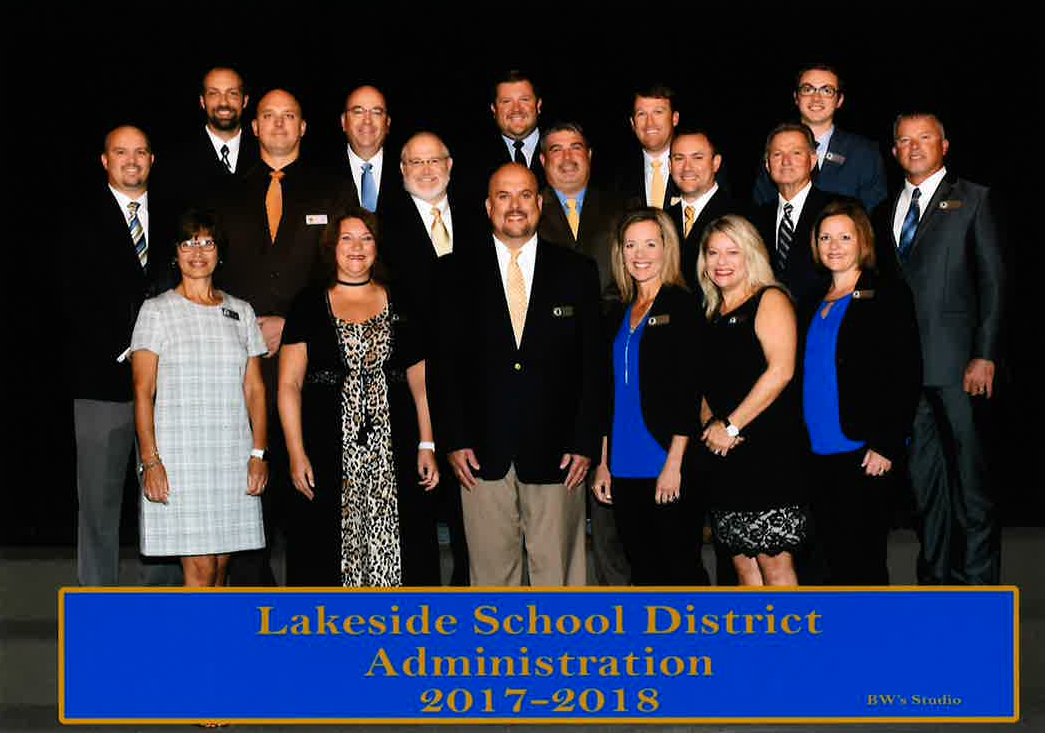 Lakeside School District 2017-2018 Administration Picture