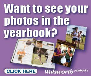 Image directs you to walsworth yearbook site to upload your photos to the yearbook.