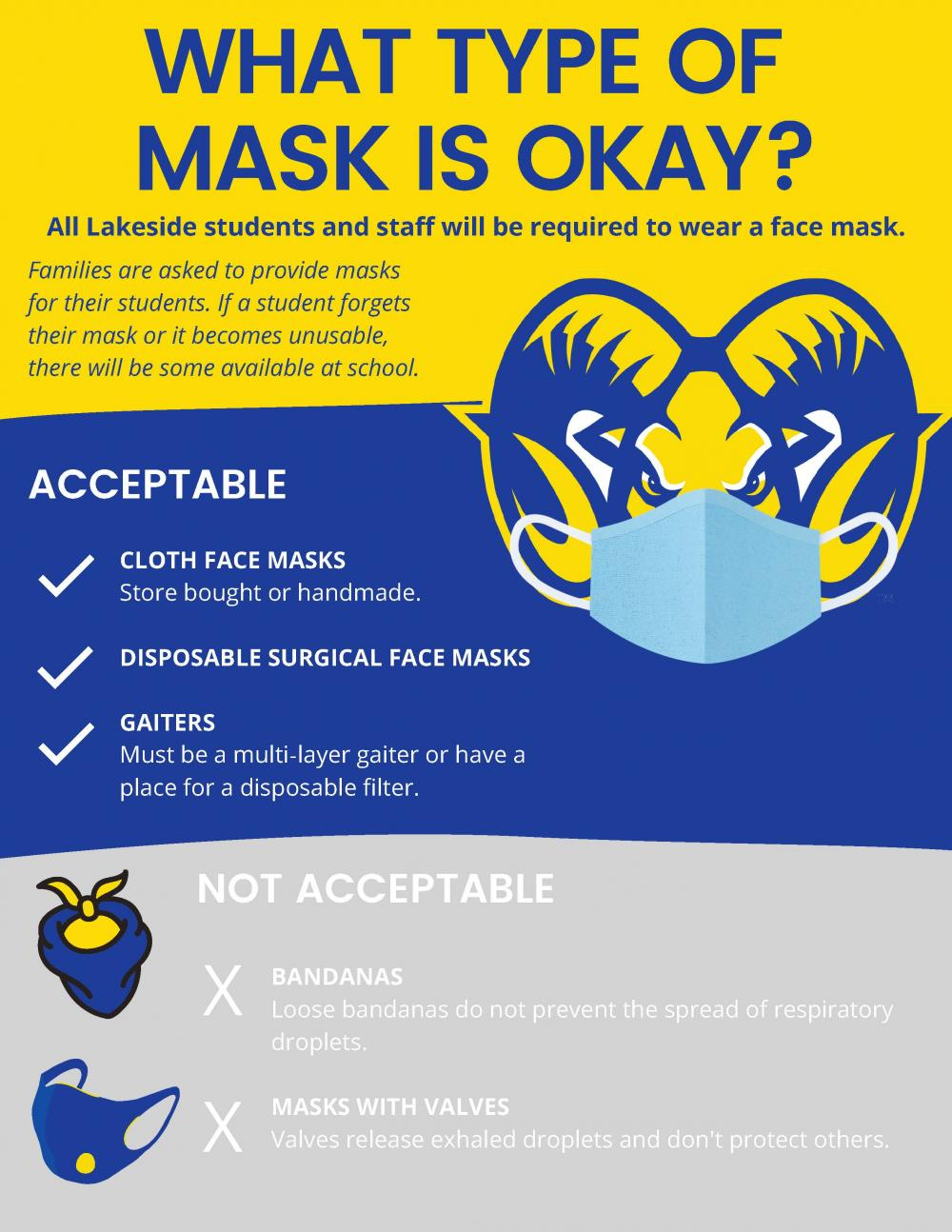 what type of masks