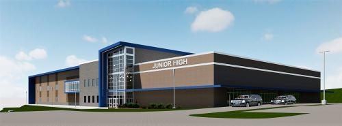 Junior High side view