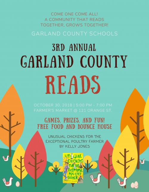 Garland County Reads Poster