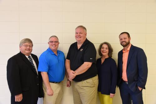 Lakeside School Board: John Pennington, Tylar Tapp, Will Maffit, Carla Mouton, Mark Braziel