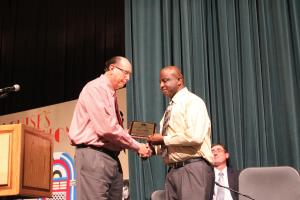 Distinguished Service Award-Ephran Franklin