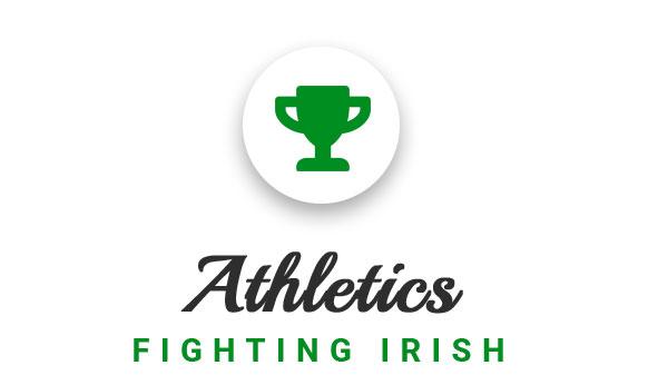 Athletics Fighting Irish