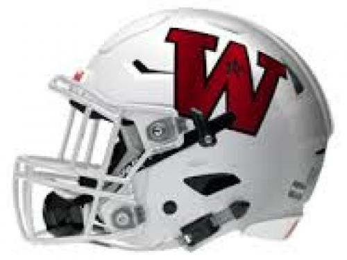 wellington football helmet