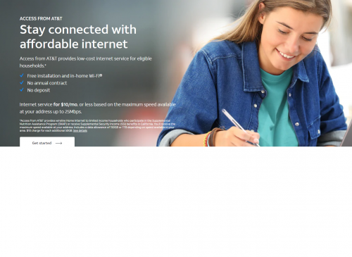 AT&T Access Internet Information