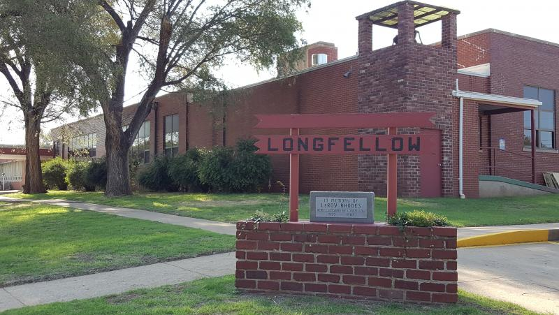 Landscape View facing Longfellow Elementary