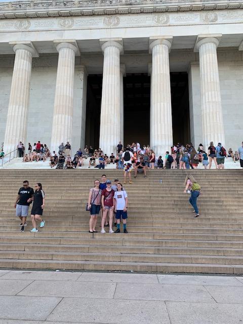 TSA students in Washington D.C.