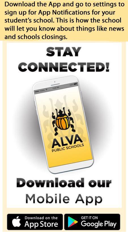 Alva Schools App