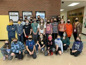 AMS students compete at Virtual Scholastic Meet