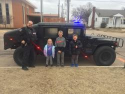 Thumbnail Image for Article Gotcha Winners Ride in Kids & Cops Humvee