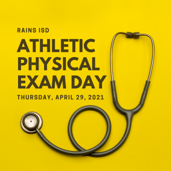 Athletic Physical Exam Day