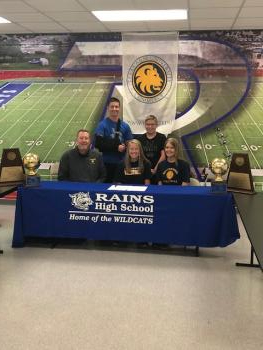 Sheppard signs with Texas A& M Commerce--Volleyball
