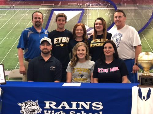 Terry Signs with East Texas Baptist University- Cross Country