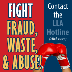 Report Fraud, Waste & Abuse!