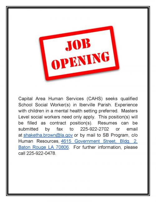 Capital Area Human Services