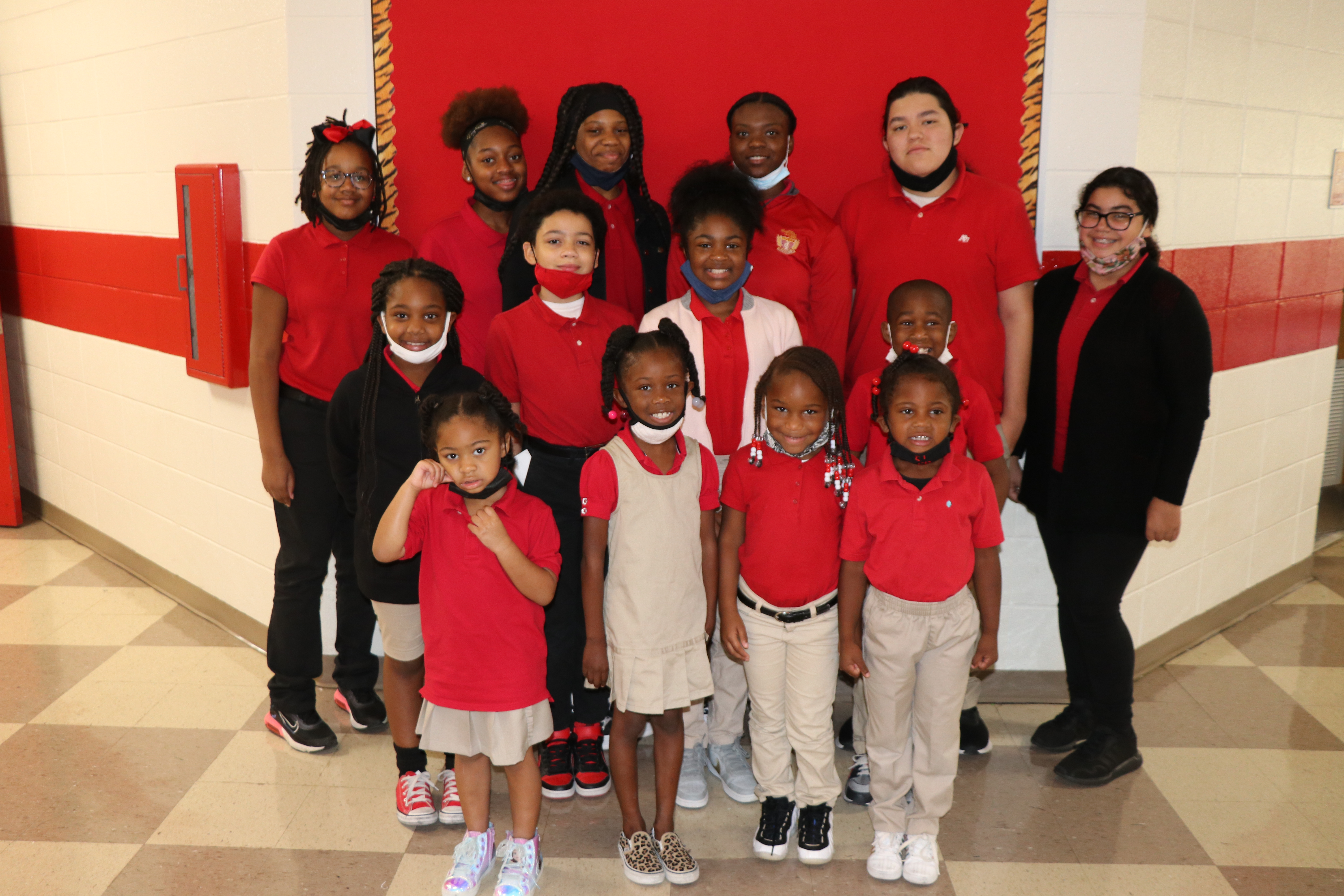 East Iberville Students of the Month