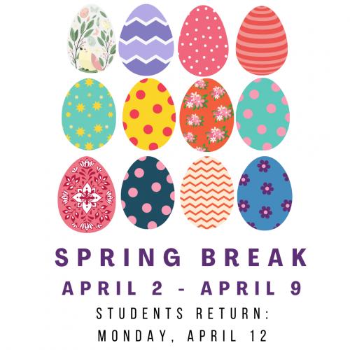 Spring Break dates