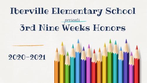 3rd 9 Weeks Honors Program