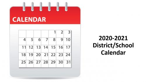 2020-2021 District/School Calendar