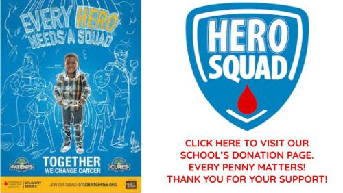 Join us in supporting the Hero Squad!