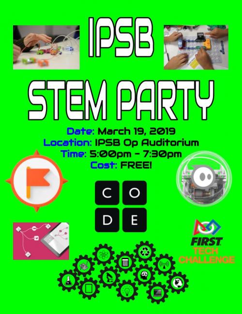Join us for a STEM party!