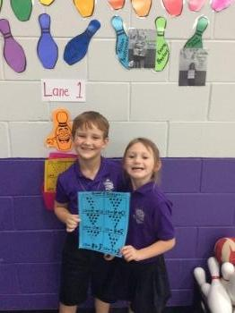1st grade Star Bowlers (Monday)