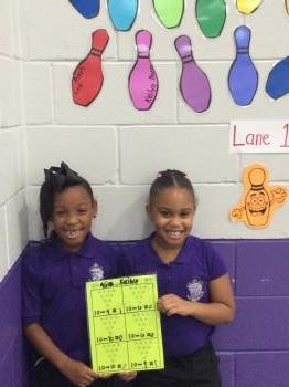 2nd grade Star Bowlers (Monday)