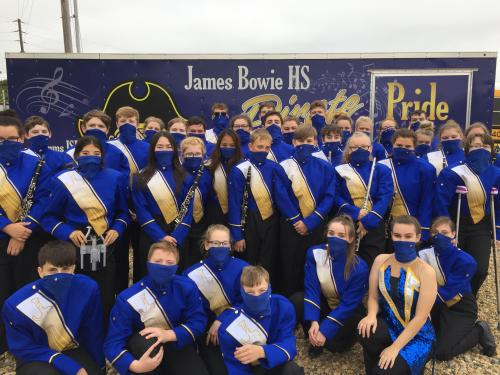 Congratulations to our Pirate Marching Band!  They received a 2 (2-2-1) at their contest this past weekend!