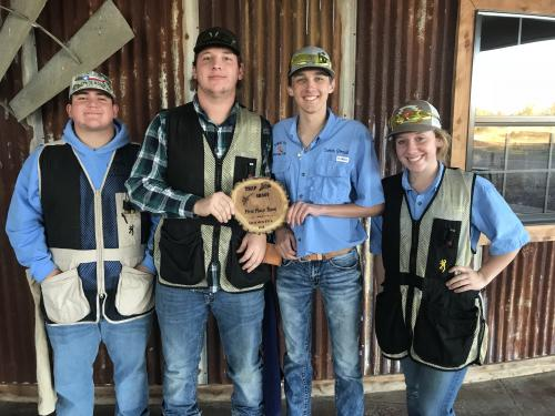 FFA Trap Shoot Team