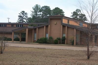 Landscape View facing Winnfield Middle School